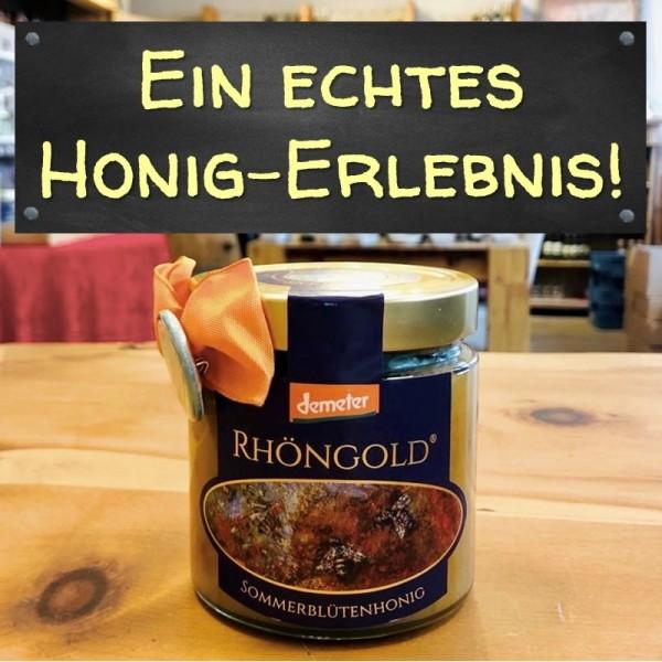 BIO Sommerblütenhonig RHÖNGOLD (Das Juwel!)