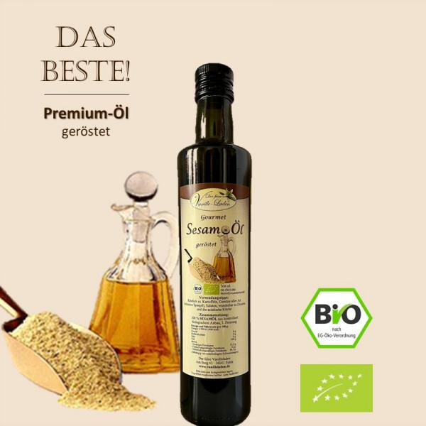BIO Gourmet Sesamöl 250 ml - geröstet