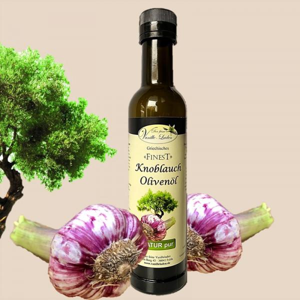 Knoblauch-Olivenöl aus Kreta