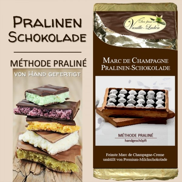Marc de Champagne Pralinen-Schokolade