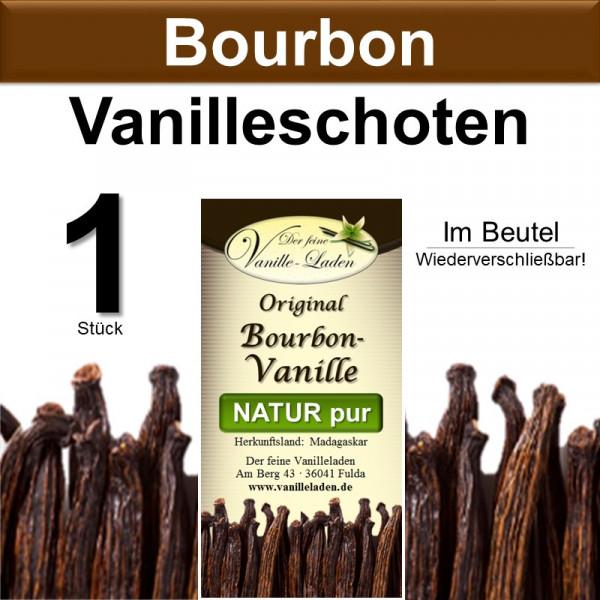 Original Bourbon-Vanille Schoten (1 Stück)