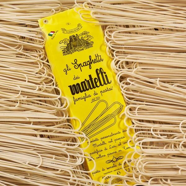 Spaghetti Martelli - die Ur-Spaghetti aus der Toscana!