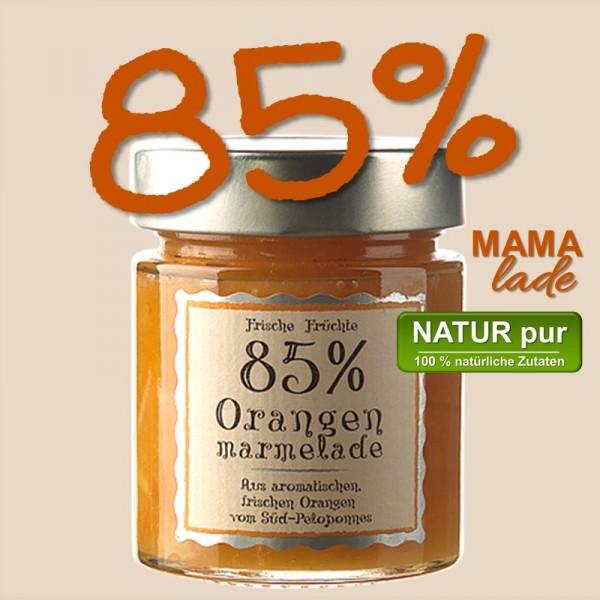 85% ORANGEN MARMELADE vom Süd Peleponnes