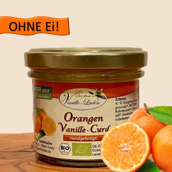 Orangen-Vanille-Curd