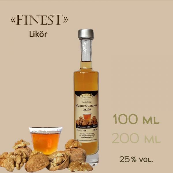 Walnuss-Cognac-Likör / 25 % vol.