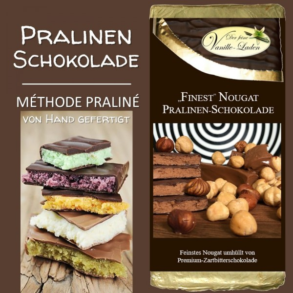 "Nougat ""FINEST"" Pralinen-Schokolade"