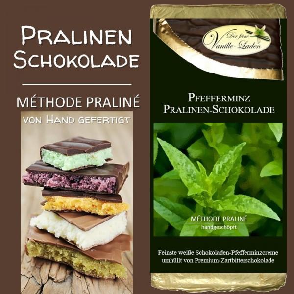 Pfefferminz Pralinen-Schokolade