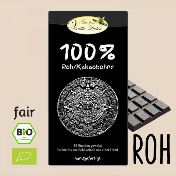 100% Roh/Kakaobohne