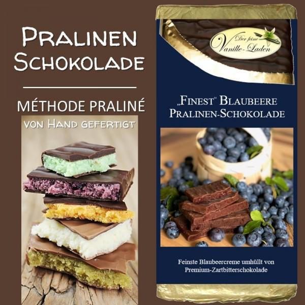 """Blaubeere """"FINEST"""" Pralinen-Schokolade"""