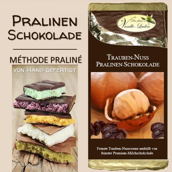 Traube-Nuss Pralinen-Schokolade