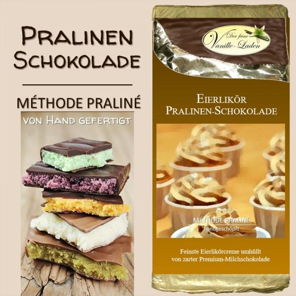 Eierlikör Pralinen-Schokolade