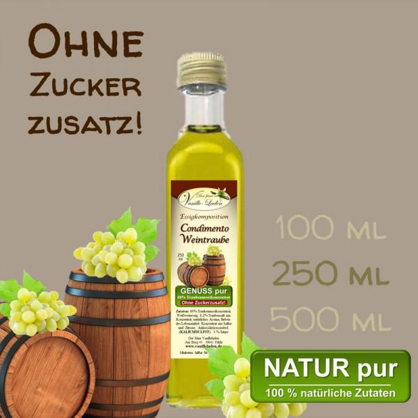 Condimento Weintraube (OHNE ZUCKERZUSATZ!)