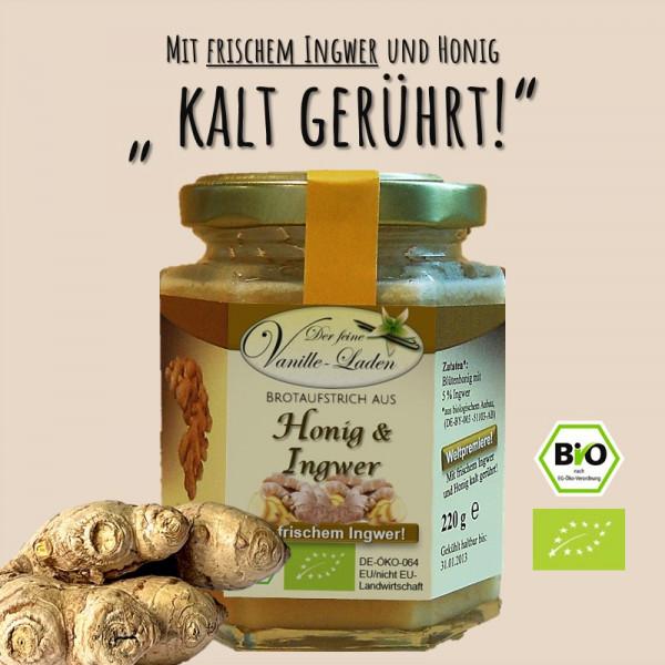 BIO Brotaufstrich aus Ingwer & Honig