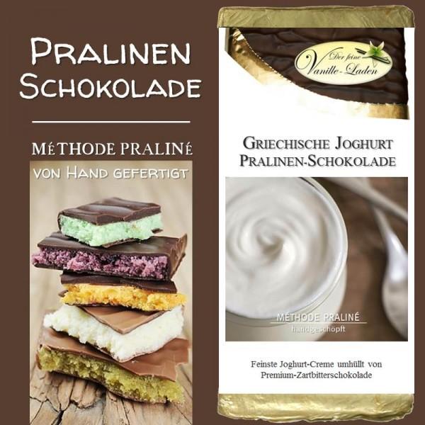 Griechische Joghurt Pralinen-Schokolade