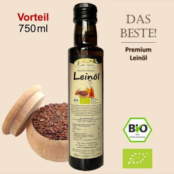 BIO-Leinöl (750 ml)
