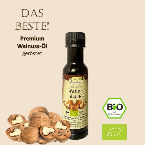 BIO Walnusskernöl (Premium-Qualität) - geröstet