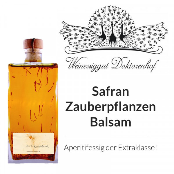 """Safran - Zauberpflanzen - Balsam"" DOKTORENHOF"