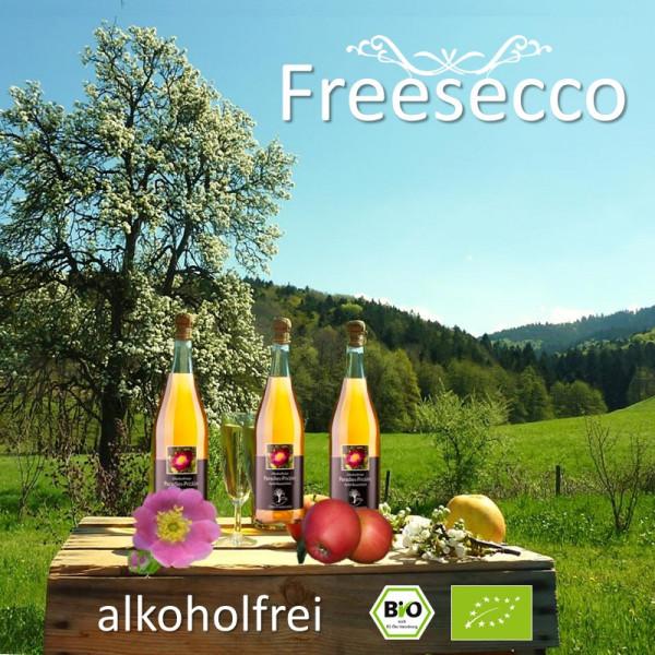 "BIO Paradies-Prickler ""Apfel-Rosenblüte / Rosige Zeiten"" -alkoholfrei-"