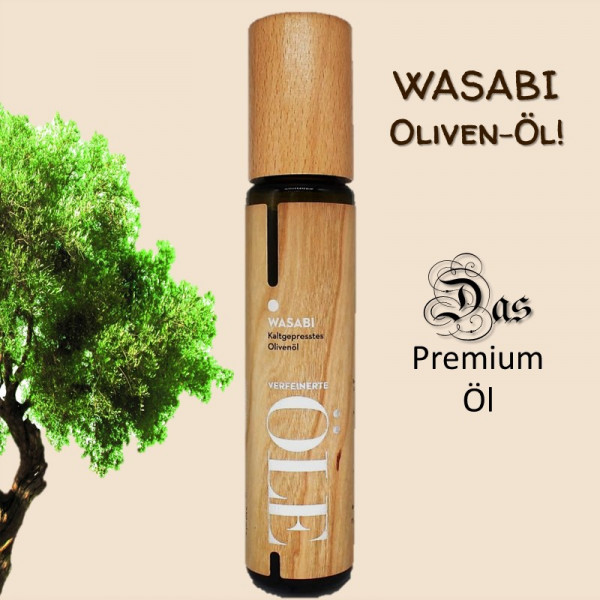 WASABI – Natives Olivenöl extra | Wood Design