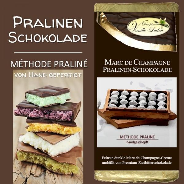 """Marc de Champagne """"bitter"""" Pralinen-Schokolade"""