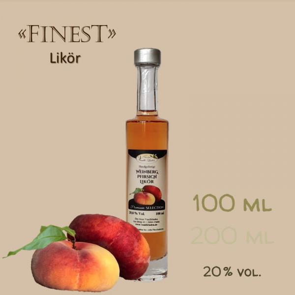 Weinbergpfirsich-Likör / 20 % vol.