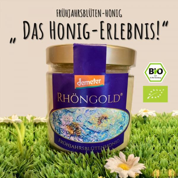 BIO Frühjahrsblütenhonig RHÖNGOLD (High Quality!)