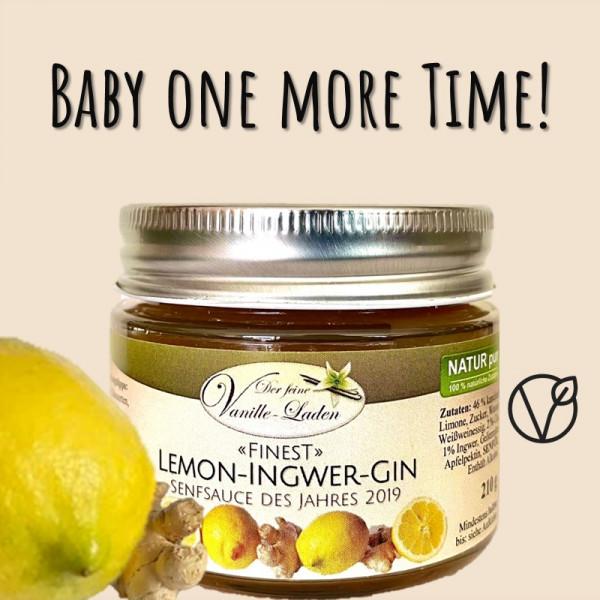 Lemon-Ingwer-Gin-Senfsauce