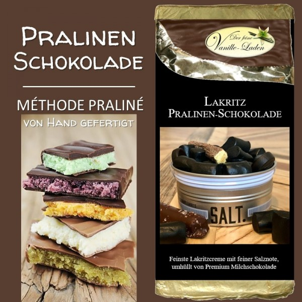Lakritz Pralinen-Schokolade