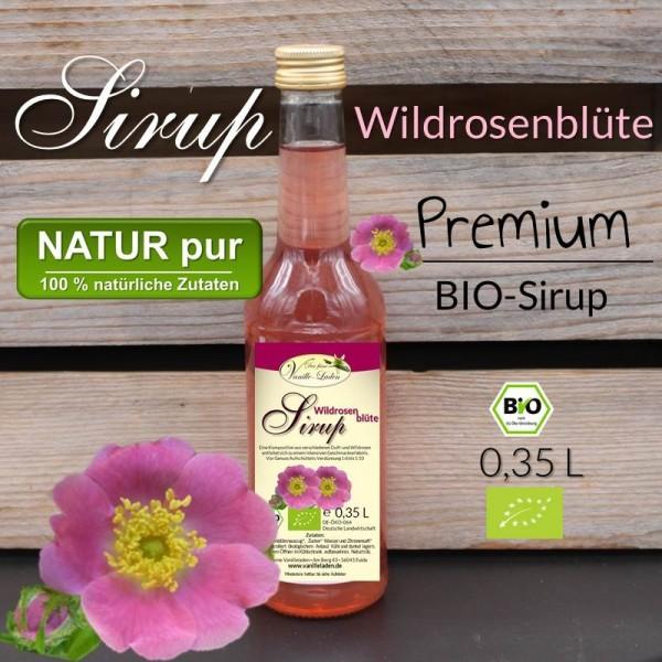 BIO Wildrosenblüten-Sirup