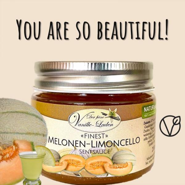 Melonen-Limoncello-Senfsauce