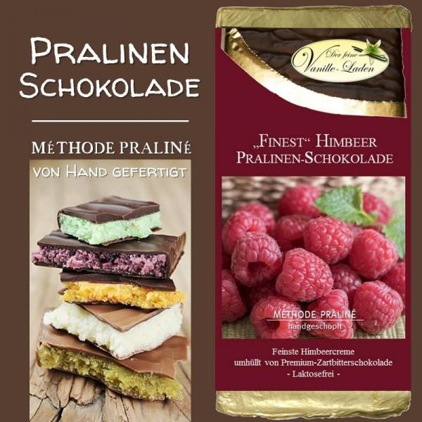 """Himbeer """"FINEST"""" Pralinen-Schokolade"""