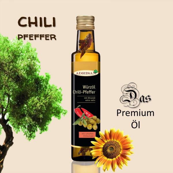 Chili-Pfeffer-Würzöl