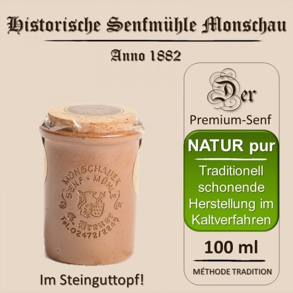 Riesling-Senf / Monschauer Senf-Mühle (100 ml)