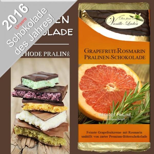 "Grapefruit-Rosmarin Pralinen-Schokolade ""Schokolade des Jahres 2015/2016"""