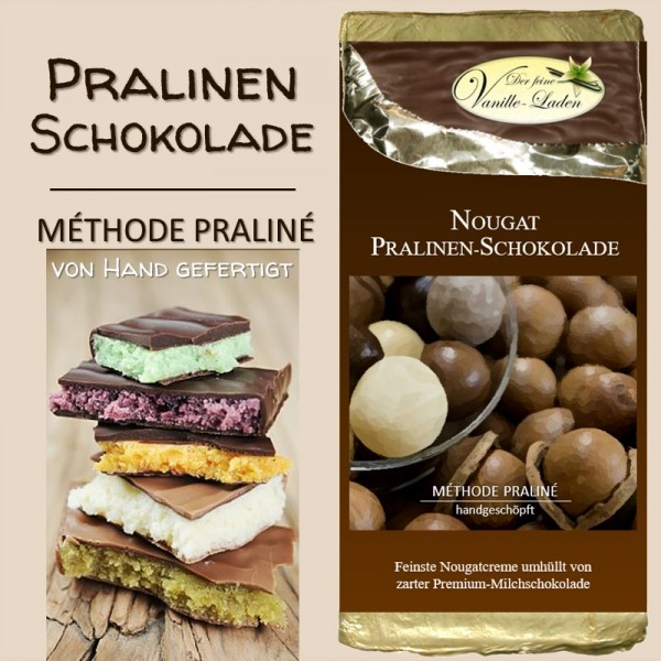 Nougat Pralinen-Schokolade