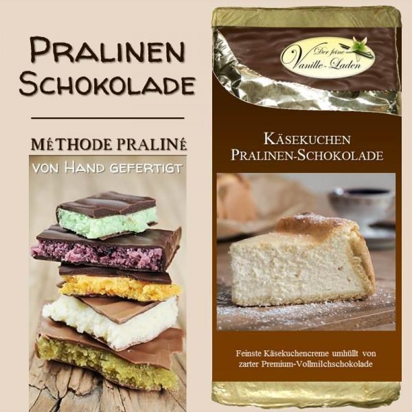 Käsekuchen Pralinen-Schokolade