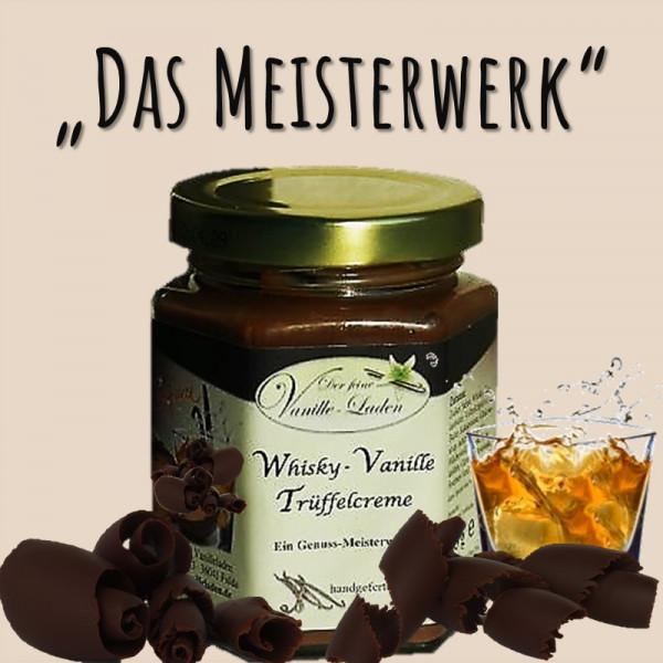Whisky-Vanille Pralinen-Creme (Trüffelcreme)