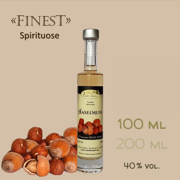 Haselnuss-Schnaps / 40 % vol.