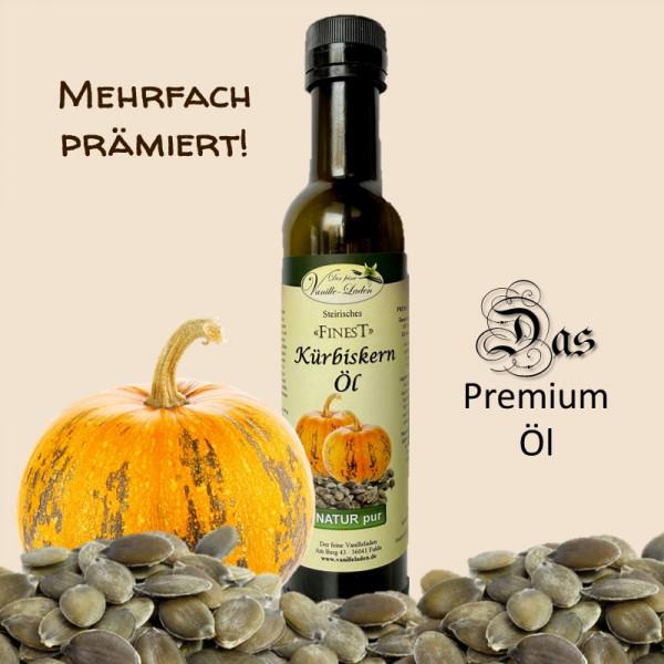 Steirisches Kürbiskern-Öl (Premium-Qualität)