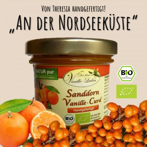 BIO Sanddorn-Vanille-Curd