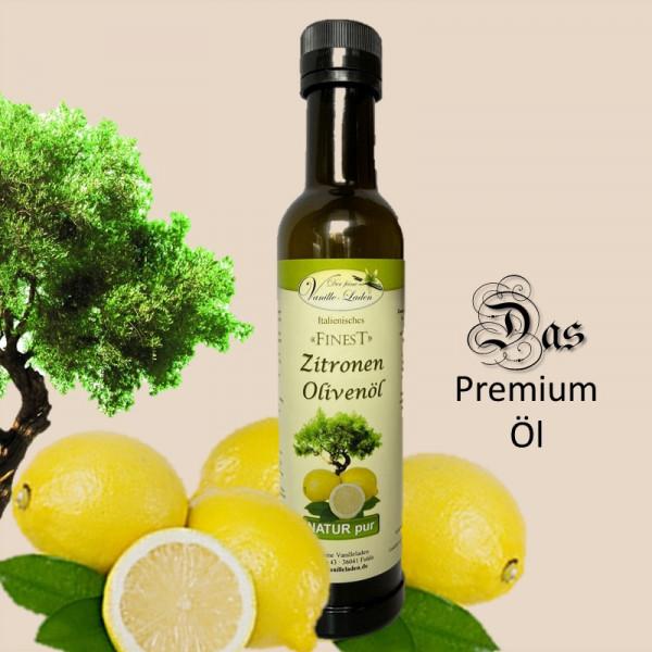 Zitronen-Olivenöl aus Sizilien
