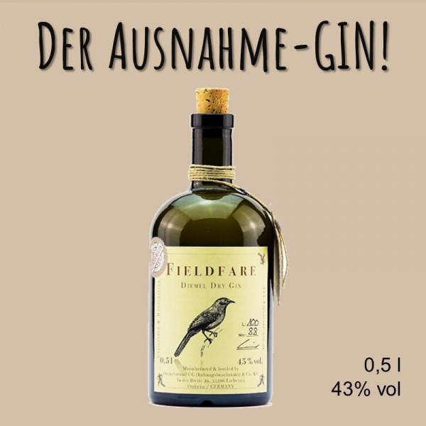 FIELDFARE Dry Gin (500 ml)