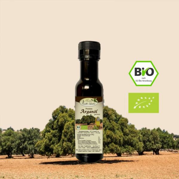 Bio-Arganöl, 1. Kaltpressung