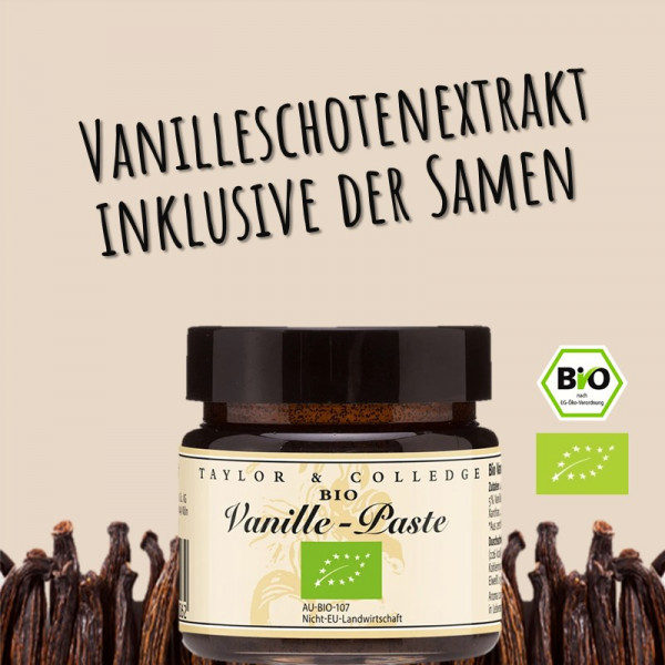 BIO-Vanille-Paste