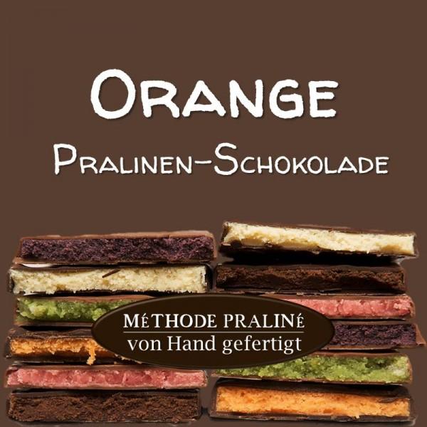 Orange Pralinen-Schokolade