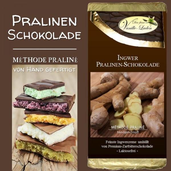 Ingwer Pralinen-Schokolade