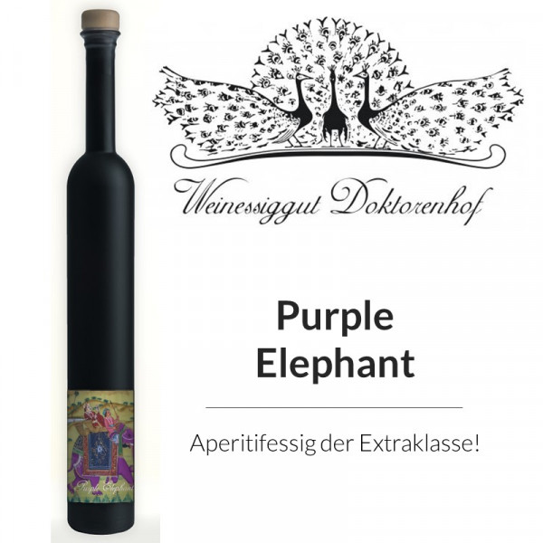 """""""Purple Elephant """" DOKTORENHOF"""
