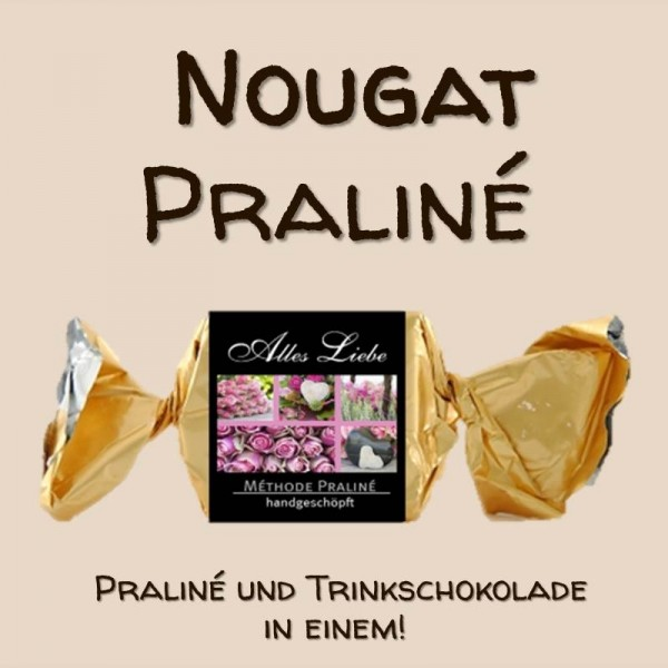 """Praliné """"Alles Liebe"""" (Nougat)"""