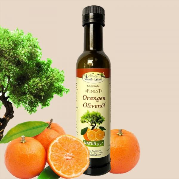 Orangen-Olivenöl aus Griechenland