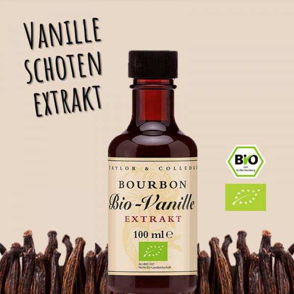 BIO Vanilleschoten-Extrakt
